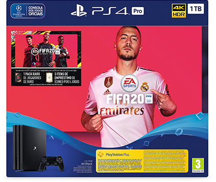 Bundle PlayStation 4 PRO + FIFA 20