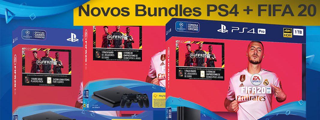 Bundles Playstation 4 + FIFA 20