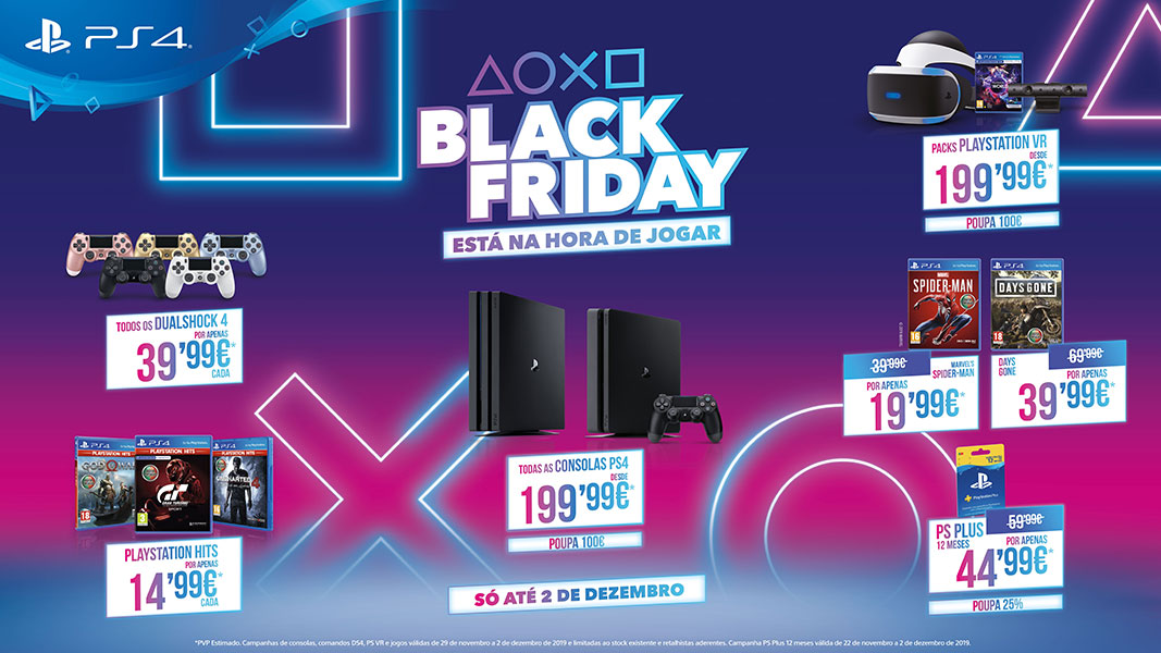 PlayStation Black Friday 2019