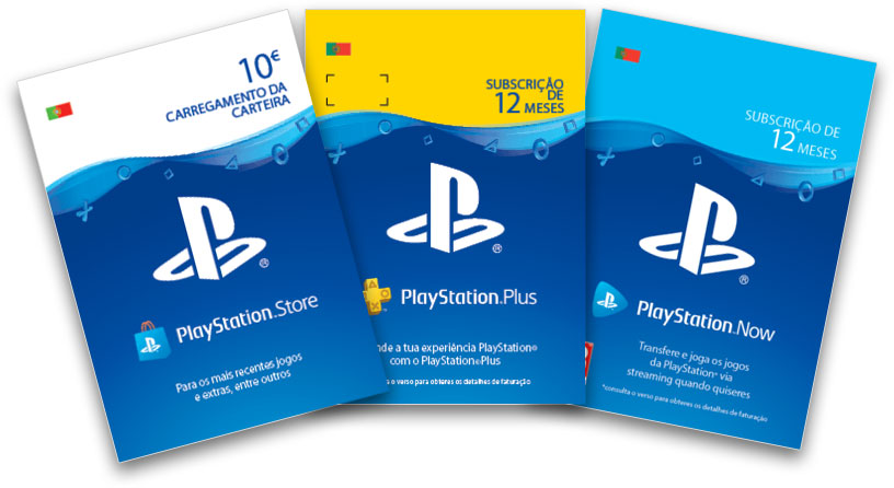 Cartões Presente PlayStation