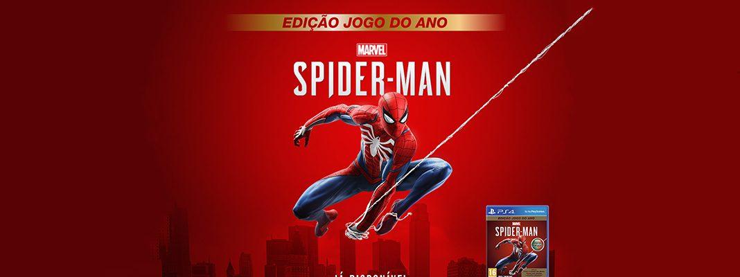 Marvel's Spider-Man Edição Jogo do Ano