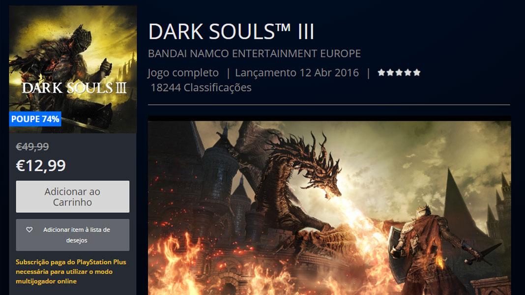 Dark Souls III - PlayStation Store
