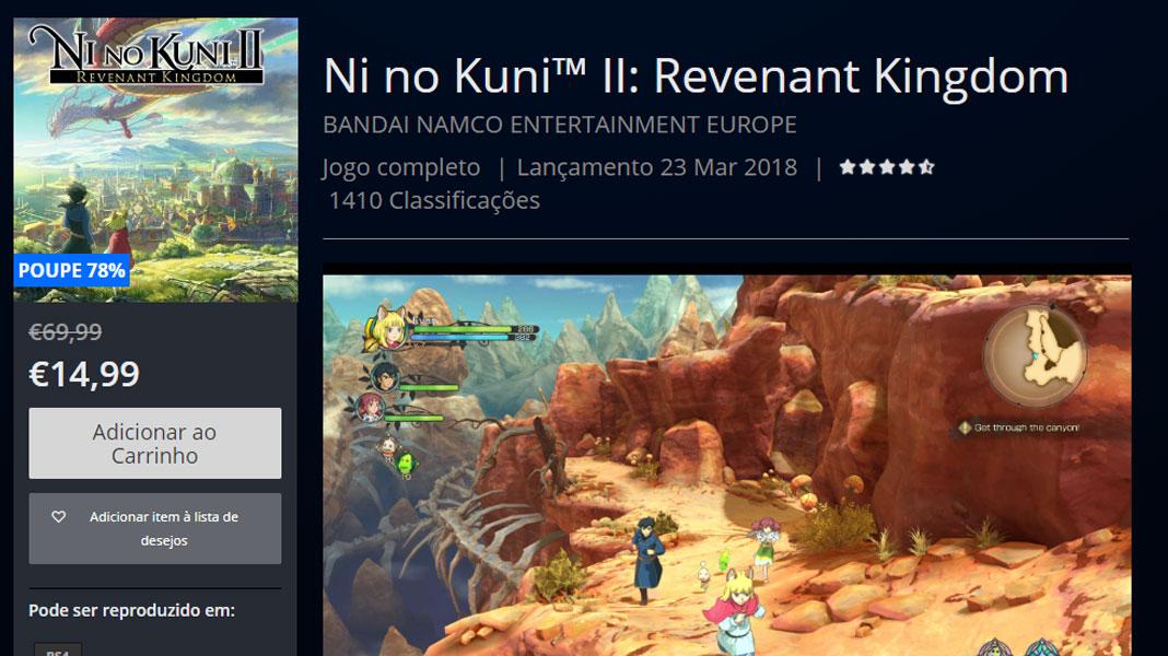Ni no Kuni II: Revenant Kingdom - PlayStation Store