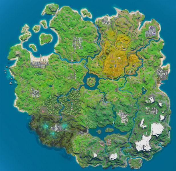 Novo mapa Fortnite