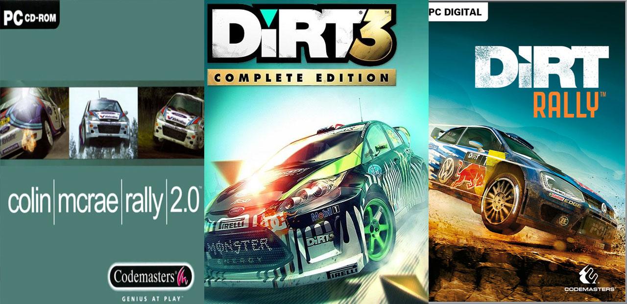 Saga Colin Mcrae Rally/DiRT Rally
