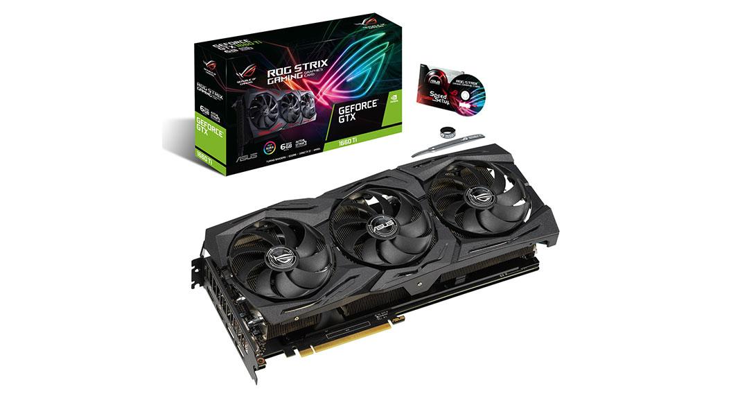 ROG Strix GeForce GTX 1660 Ti 6GB GDDR6