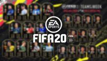 Team of the Week - FIFA 20