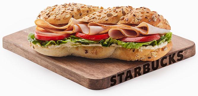 Starbucks: Truffle Turkey Sandwich