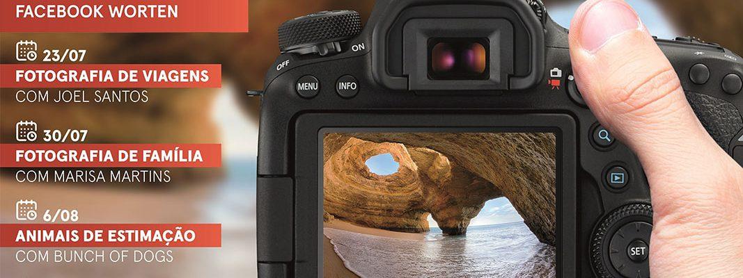 Worten e Canon apresentam Workshops de fotografia em live stream