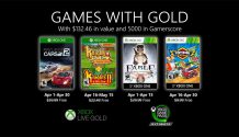 Xbox Games with Gold de Abril 2020