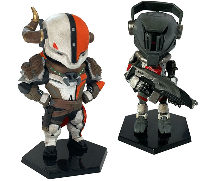 Lord Shaxx and Redjack