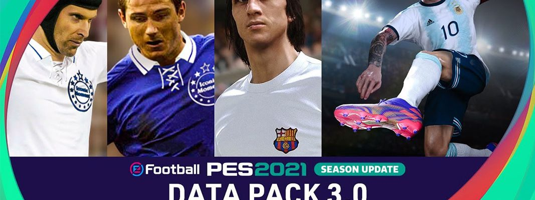 eFootball PES 2021 Season Update - Data Pack 3.0