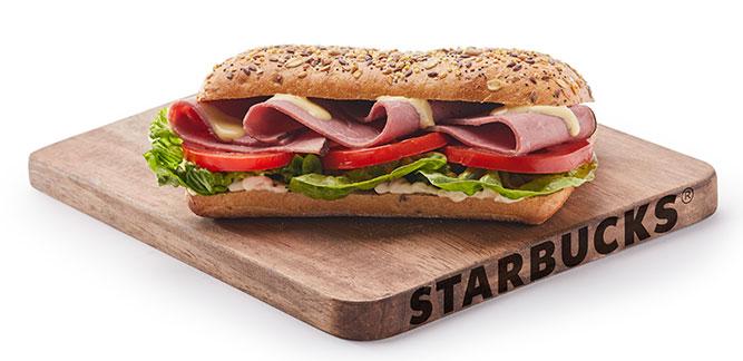 Starbucks: Pastrami Sandwich