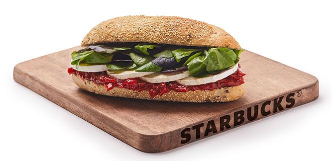Starbucks: Sanduíche de Pimentos Caramelizados