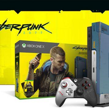 """Edição Limitada Xbox One X """"Cyberpunk 2077"""""""