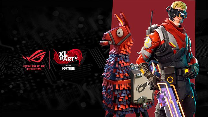ROG XL PARTY Fortnite