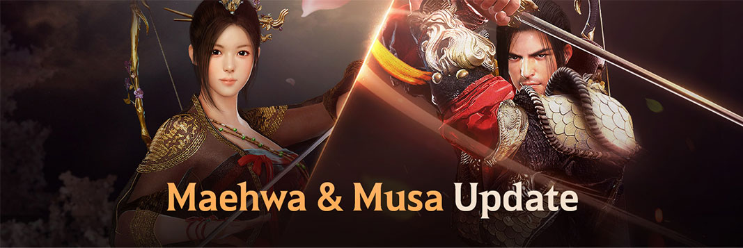 Black Desert Mobile: Musa e Maehwa