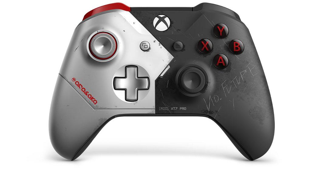 "Edição Limitada Xbox Wireless Controller ""Cyberpunk 2077"""