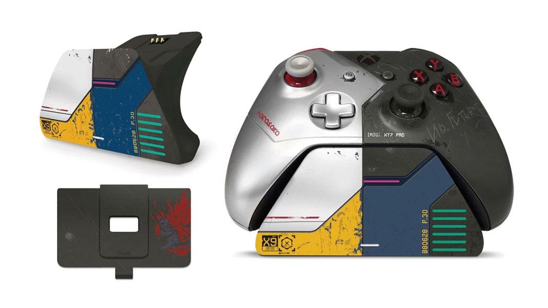 Suporte de carregamento para Xbox Pro Cyberpunk 2077 Limited Edition