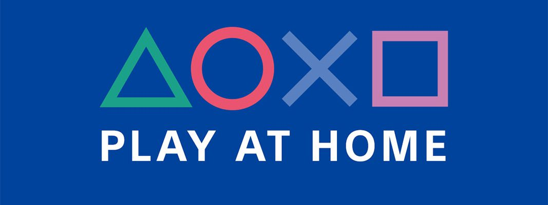 PlayStation lança iniciativa #PlayAtHome