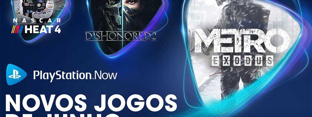 PlayStation Now: atualização de catálogo de junho 2020