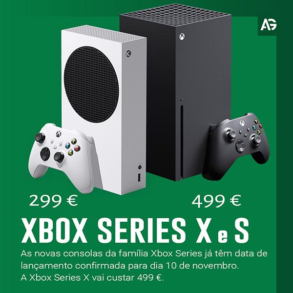 Data e Preços da nova Xbox Series X e S