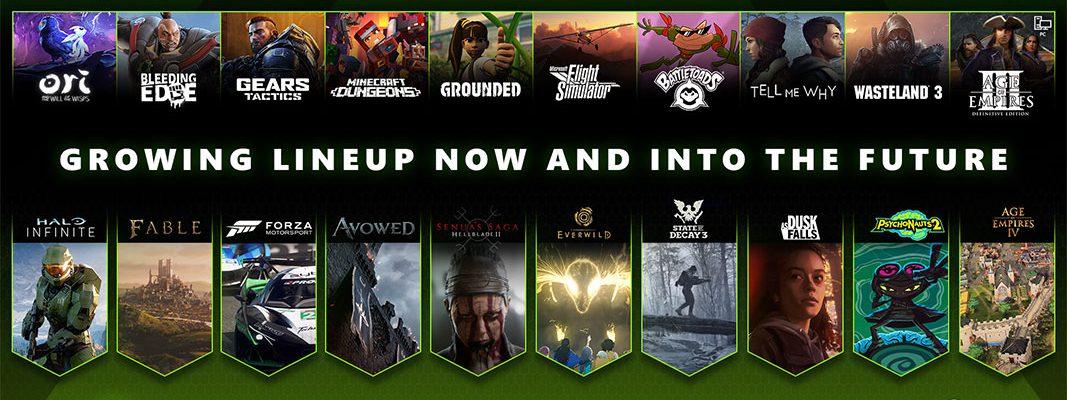 Xbox Game Studios: 2020 em números