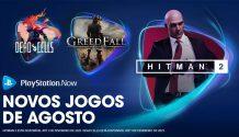 PlayStation Now: atualização agosto 2020