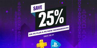 Descontos PlayStation Plus e PlayStation Now