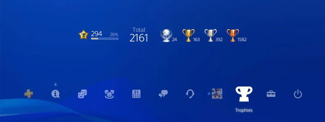 Troféus PlayStation