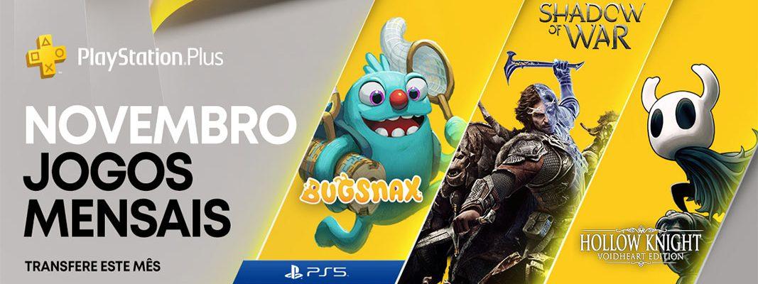 PlayStation Plus - Novembro 2020