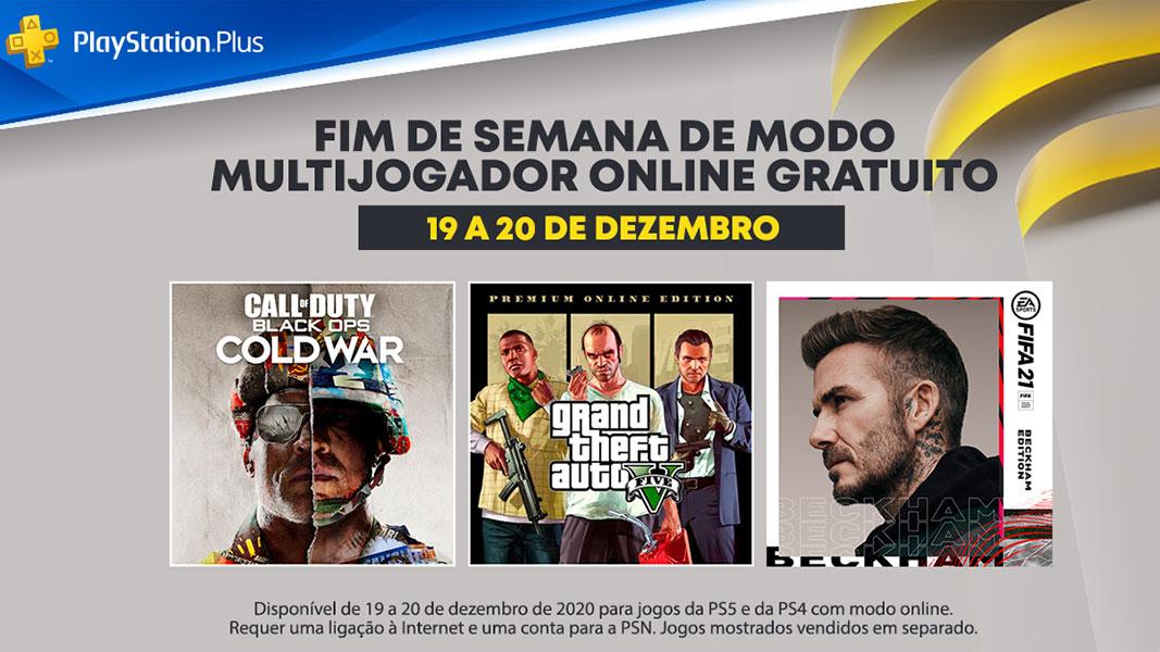 PlayStation Plus - Fim de semana grátis