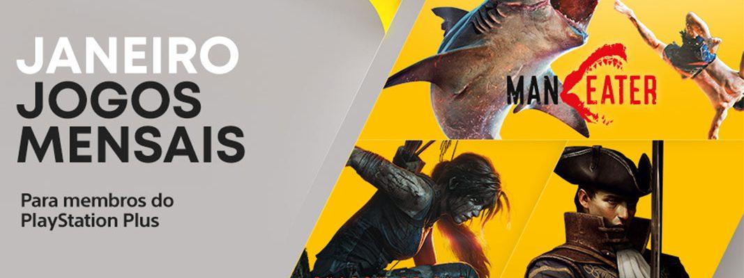 PlayStation Plus: Jogos do mês de janeiro 2021