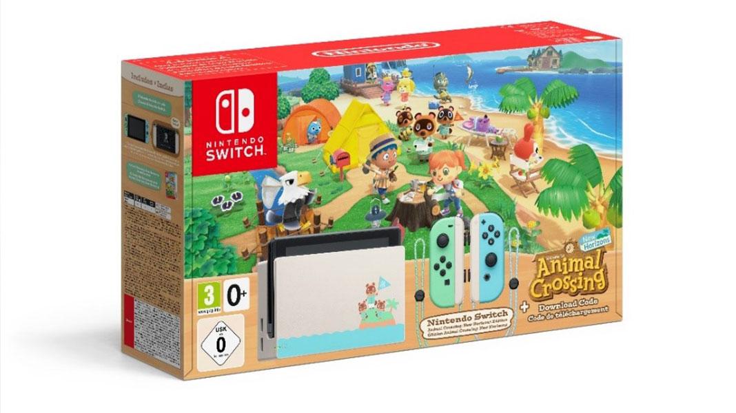 Bundles de Natal Nintendo