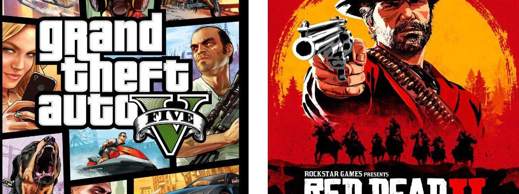 GTA 5 e Red Dead Redemption 2