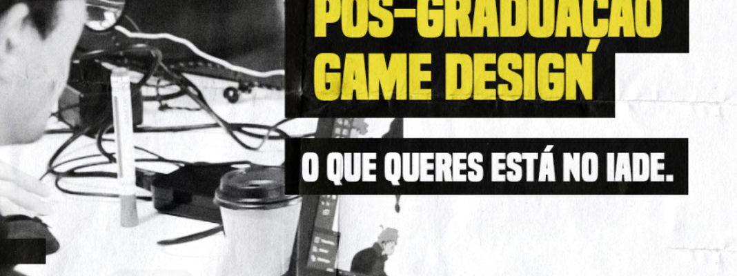 Pós-Graduação em Game Design da IADE