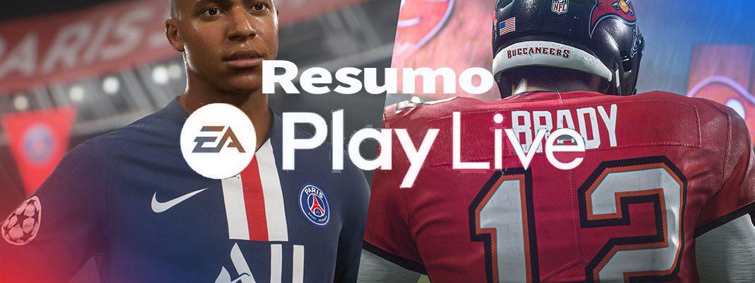 Resumo EA Play Live