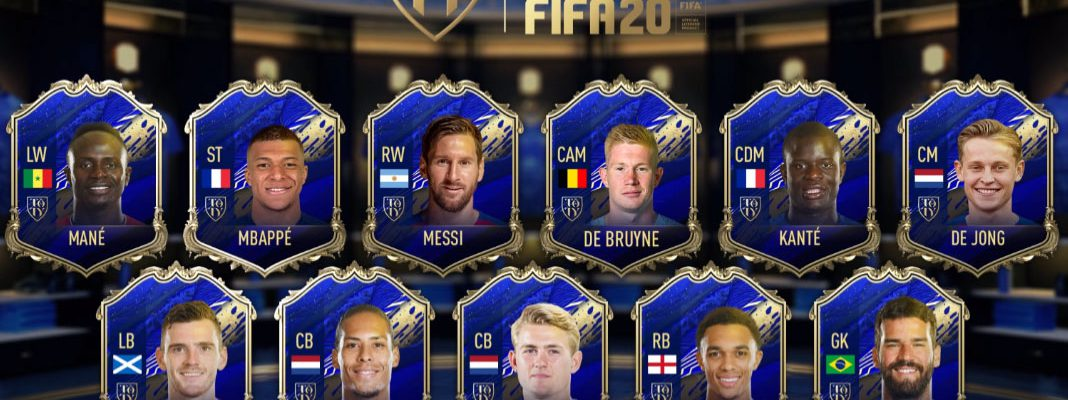 Team Of The Year FIFA 20