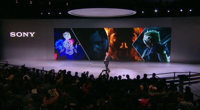 Apresentação da Sony na CES 2020