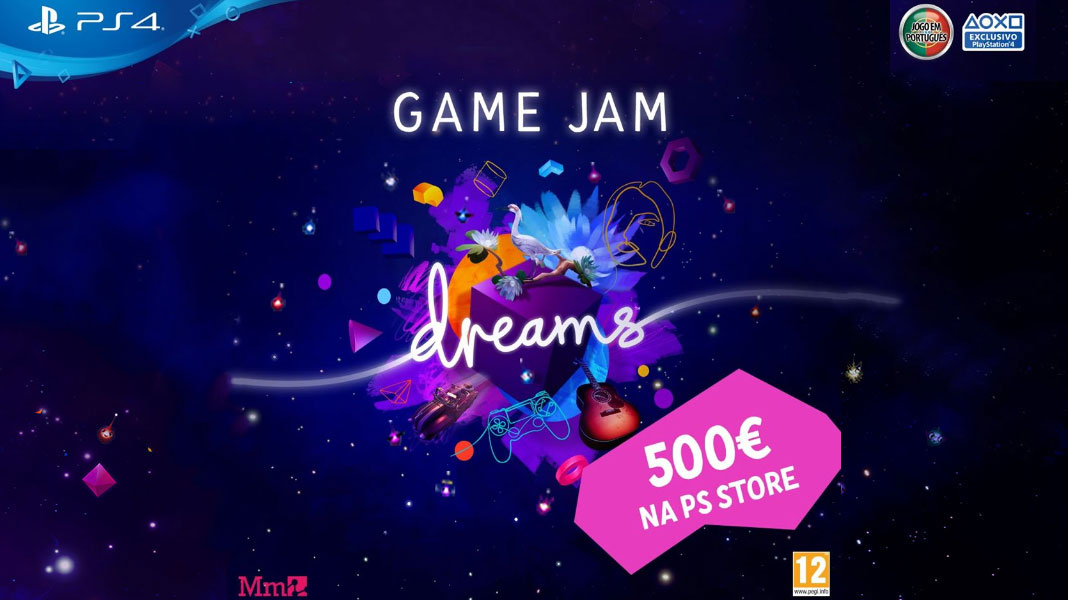 Game Jam Online de Dreams