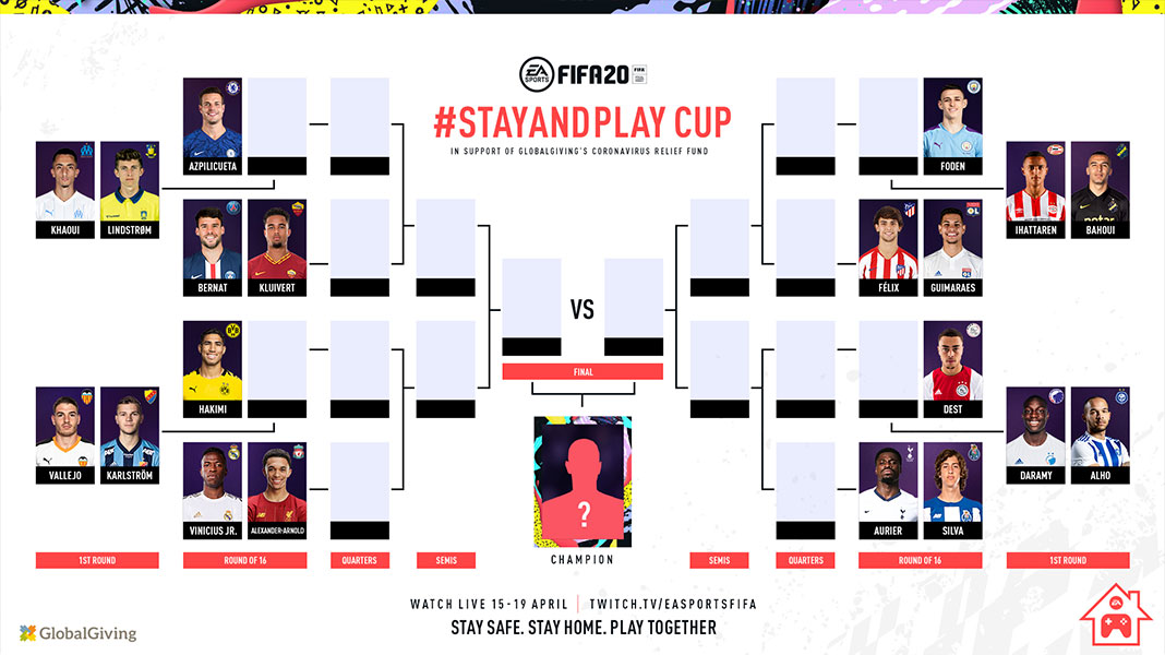 Brackets - FIFA 20 Stay and Play