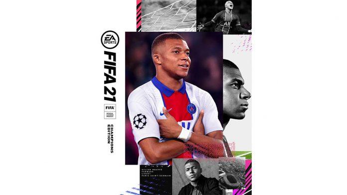 Mbappé é capa do FIFA 21
