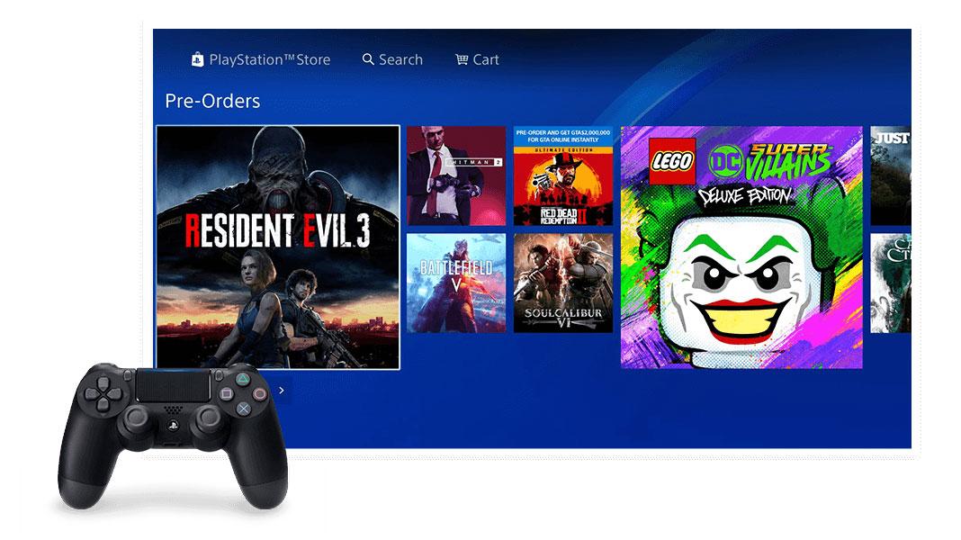 Nova PlayStation Store