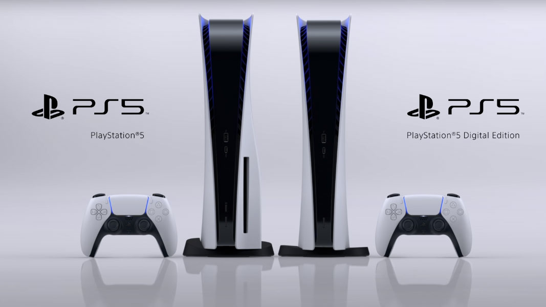 Showcase PlayStation 5 - As duas versões da PS5