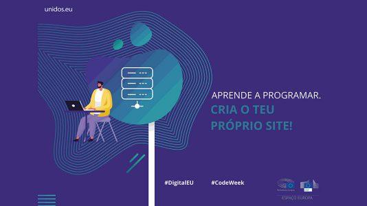 Code Week: Formação gratuita em HTML, CSS e Javascript