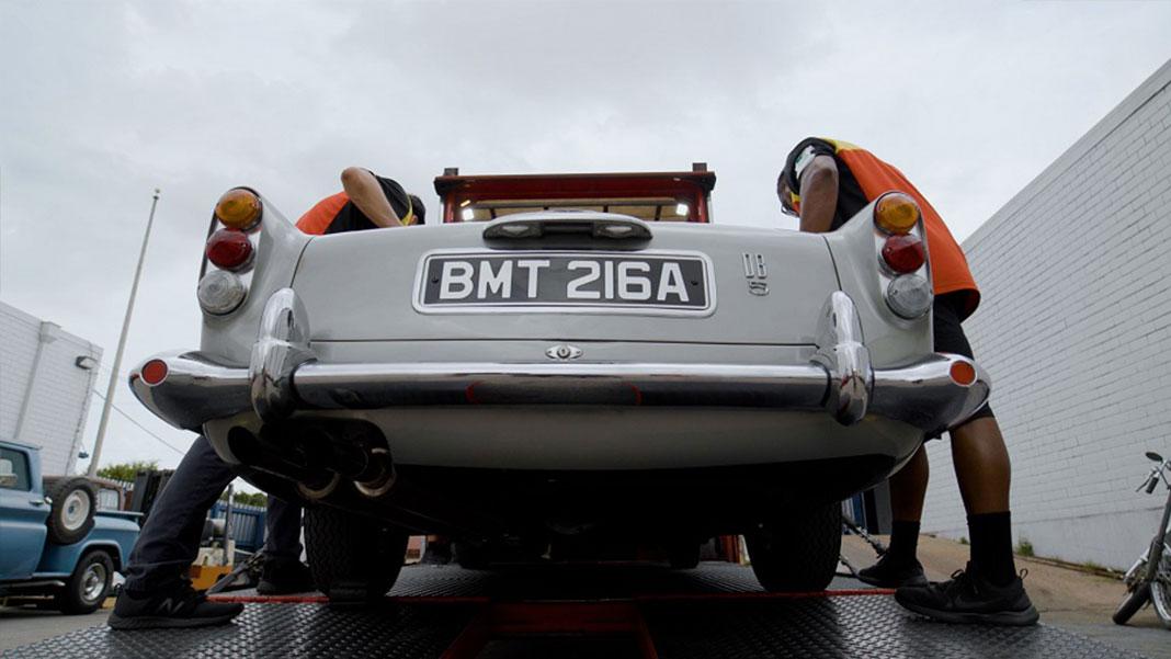 DHL transporta icónicos veículos de James Bond até aos EUA