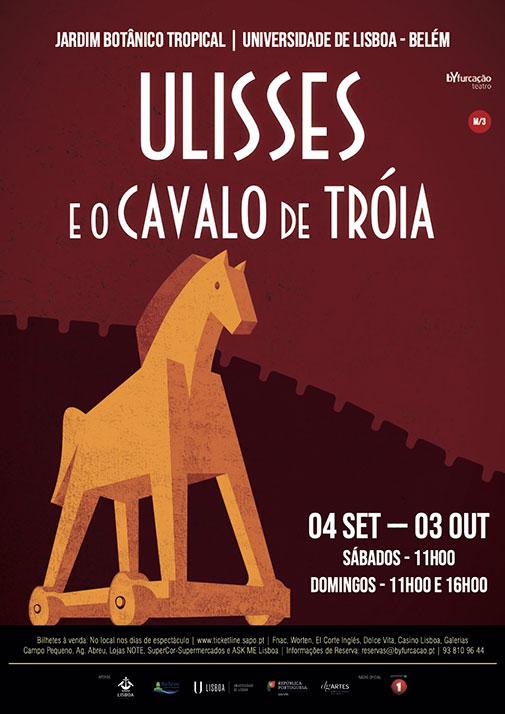 Ulisses e o Cavalo de Troia - Byfurcação Teatro