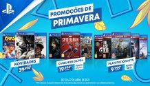 PlayStation: Promoções de Primavera 2020