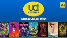 Cartaz Julho 2021 - UCI Cinemas