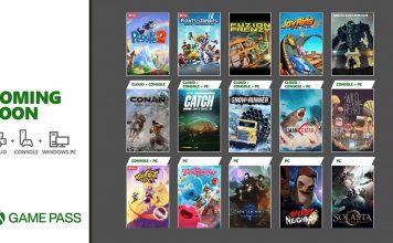 Xbox Game Pass: Jogos a chegar na segunda temporada de maio